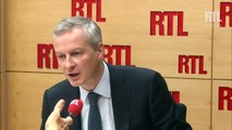 """Bruno Le Maire : """"Samedi soir, il peut ne plus y avoir d'UMP si Nicolas Sarkozy est élu"""""""