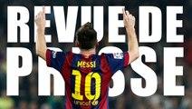 Les 10 raisons de donner le Ballon d'Or à Messi, Sanogo moqué par la presse anglaise