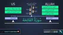 Knowledge Vs Action - Surah Al Fatihah - Quran Gems - NAK Illustrated