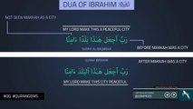 Dua of Ibrahim A.S. - Quran Gems - NAK Illustrated