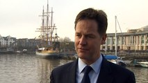 Nick Clegg: Lib Dems opposed net migration targets