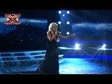 Марина Демонова - Molitva - MarijaSerifovic  - Первый прямой эфир - Х-Фактор 3 - 27,10.2012