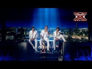Диверсия -  As Long as You Love Me - Backstreet Boys - Второй прямой эфир - Х-Фактор 3 - 03,11.2012