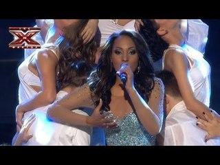 Миллен Пасса - Strong Enough - Cher - Первый прямой эфир - Х-Фактор 3 - 27,10.2012