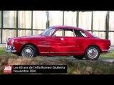 Alfa Romeo Giulietta fête ses 60 ans