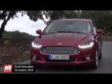 Essai Ford Mondeo 4e génération (2015) : test vidéo