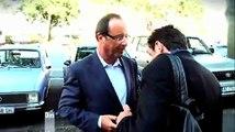 Francois Hollande et Edwy Plenel