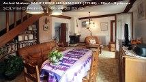 A vendre - maison - SAINT PIERRE LES NEMOURS (77140) - 3 pièces - 90m²