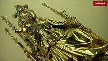 Les incroyables trésors de l'Histoire : le reliquaire du Saint Ombilic datant du XVème siècle.