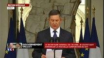 Gouvernement Valls II : Jean-Pierre Jouyet annonce la liste complète des ministres
