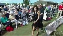 Pakistani Anchor Reham Khan dancing in UK AAJ WITH REHAM KHAN, AAJ NEWS, AAJ TV,BBC NEWS