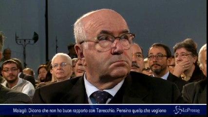 Malagò: Dicono che non ho buon rapporto con Tavecchio. Pensino quello che vogliono