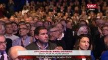 Congrès des maires de France : discours de François Baroin et Manuel Valls