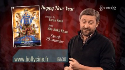 """Happy New Year"" dans Laissez-vous guider - TV VENDEE - 27/11/2014 @bollycine"