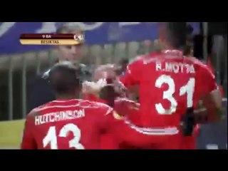 Гол Демба Ба · Астерас (Триполи) - Бешикташ (Стамбул) - 0:1