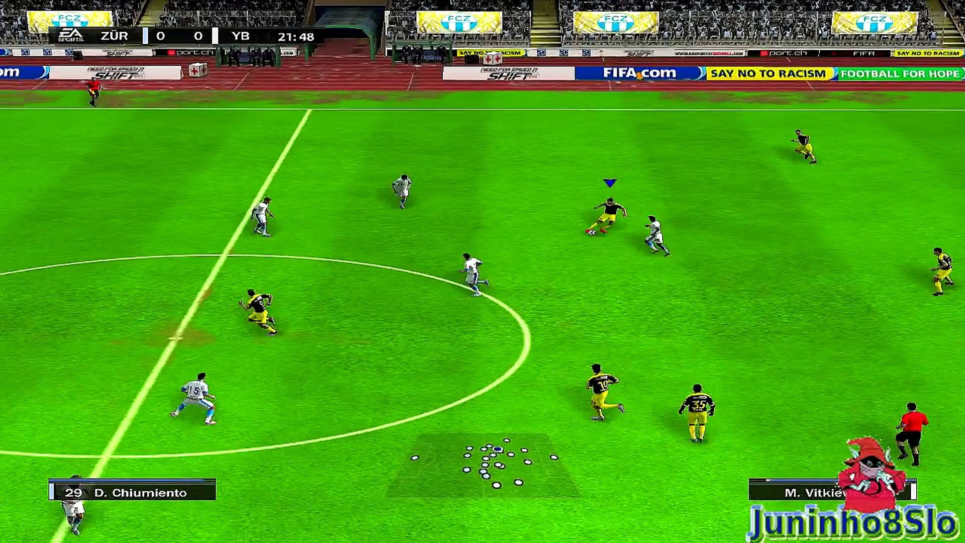 Fifa 10-Manager Mode-FC Zurich vs BSC Young Boys-Game 43