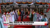 Final trailer for 'The Interview' released, shows softer side of character Kim Jong-un