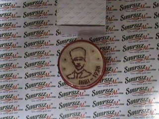 KUMDAN HEDİYE  Atatürk Tarihli - İmza  www.sinirsizal.com
