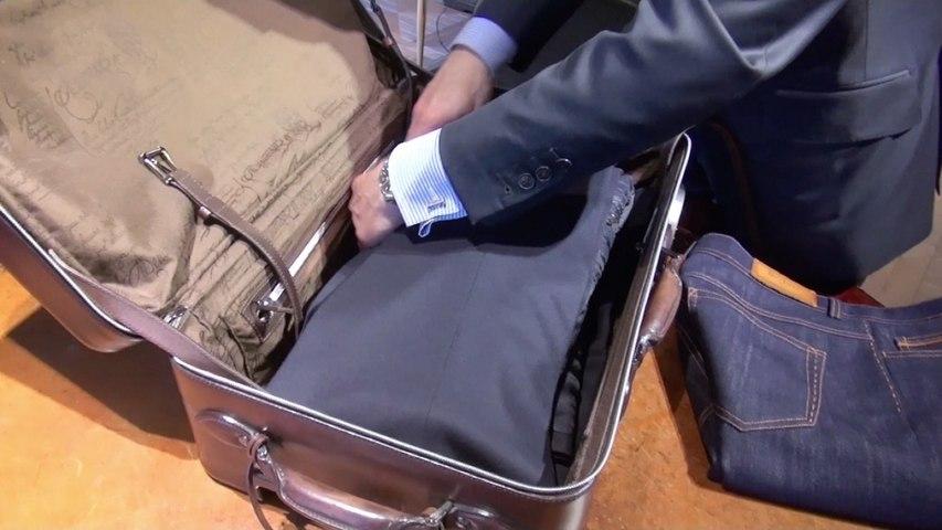 Comment plier son costume dans une valise ? Nec plus Ultra
