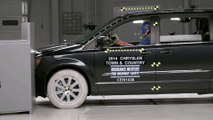 Crash tests minivans Chrysler Town & Country