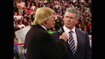 Mr_ McMahon and Donald Trump announce the Battle of the Billionaires