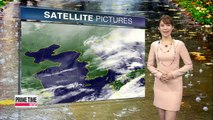 Showers to clear up overnight, more wet weather on Sunday