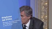 Stéphane Le Foll, ministre de l'Agriculture : les mécanismes de la nature au service de l'agriculture