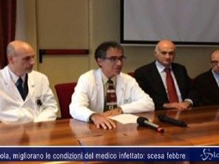 Ebola, migliorano le condizioni del medico infettato: scesa febbre