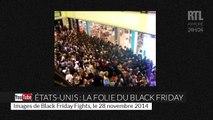Le Black Friday rend les gens fous au Royaume-Uni et aux États-Unis