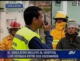 ¿Cuál fue el tiempo de reacción durante simulacro de terremoto en Guayaquil?