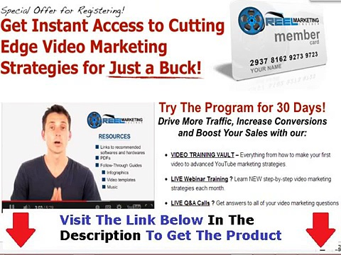 Reel Marketing Insider Platinum Membership Bonus + Discount