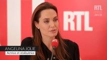 Angelina Jolie évoque son engagement politique