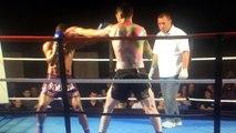 boxe thaï : Jonathan Tuhu met son adversaire KO