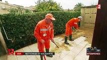 Intempéries dans le Var : à La Londe-les-Maures, les sinistrés commencent le nettoyage