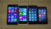 Nokia Lumia 930 vs. Nokia Lumia 635 vs. Nokia Lumia 630 vs. Nokia Lumia 520 - Which Is Faster!