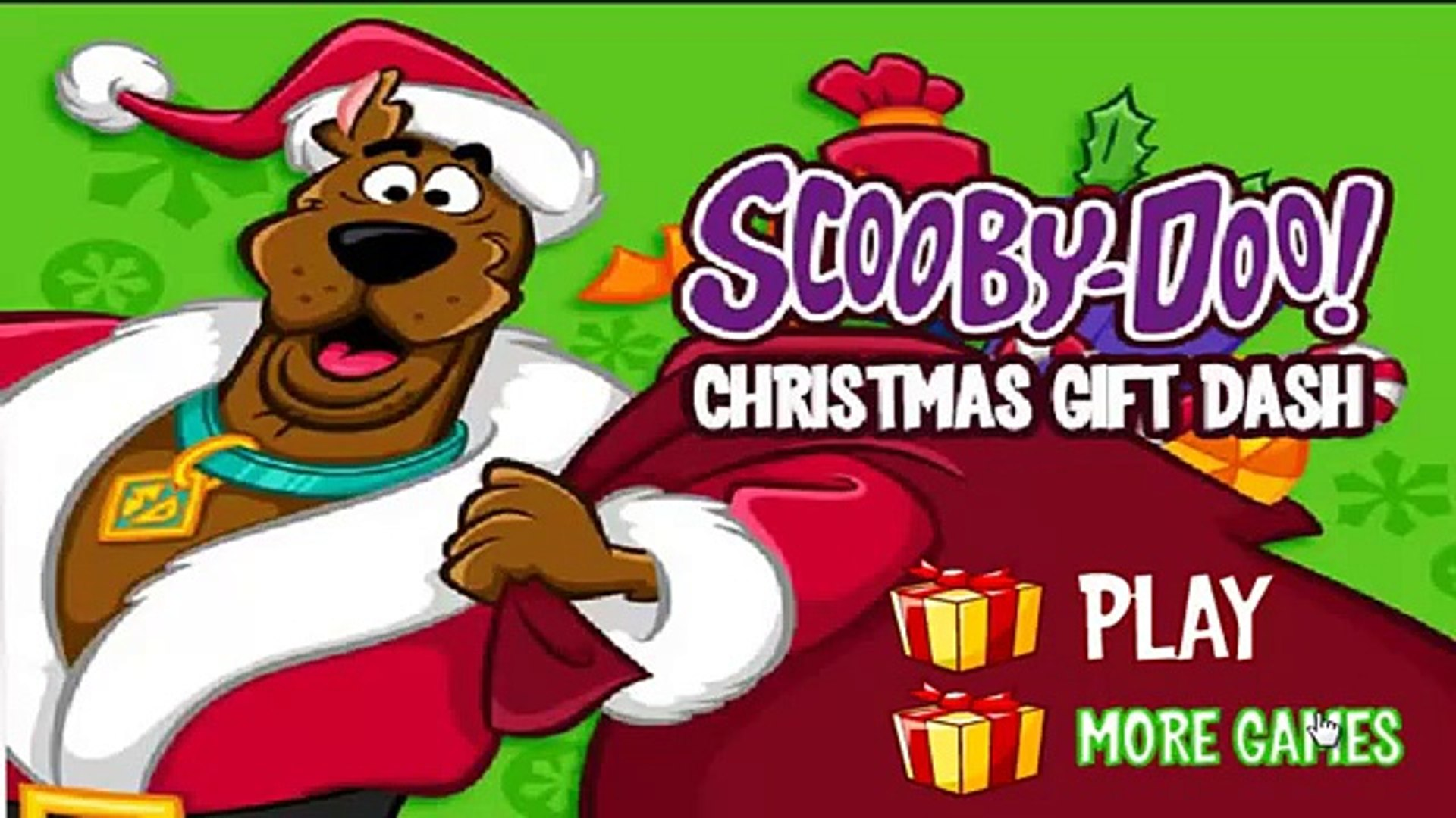 Scooby Doo Christmas.Scooby Doo Christmas Gift Dash Scooby Doo Games To Play