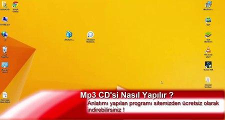 Mp3 CD'si Nasıl Yapılır