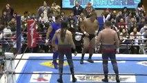 Yuji Nagata & Manabu Nakanishi vs. Lance Archer & Davey Boy Smith Jr. (NJPW)