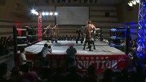 Kaz Hayashi & Shuji Kondo vs. Taiyo Kea & Yasufumi Nakanoue (Wrestle-1)