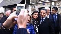 Former French President Nicolas Sarkozy makes political comeback