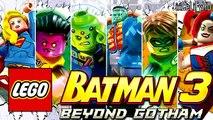 ALL NEW LEGO Batman 3 Character Variant Covers For November DC Comics Beyond Gotham