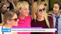 Kaley Cuoco-Sweeting Turns 29 Years Old