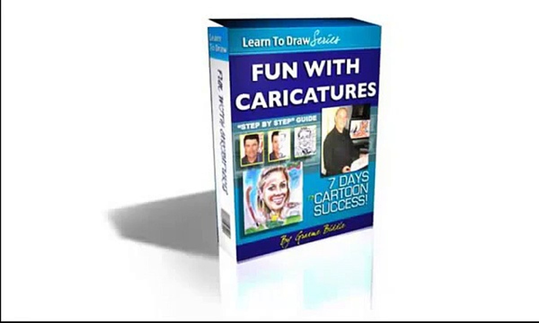 Draw caricature step by step - Learn To Draw Caricatures