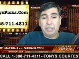 Louisiana Tech Bulldogs vs. Marshall Thundering Herd Free Pick Prediction NCAA College Football Conference USA Championship Game Odds Preview 12-6-2014