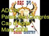 Country & Line - 8 mars 2008 - Cap d'Agde spectacle Palais des Congrés