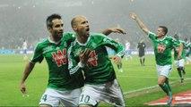 Ligue 1: Les Verts s'offrent le derby face à Lyon