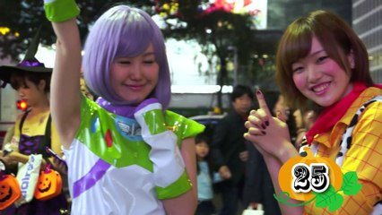 65 crazy Japanese Halloween costumes in 渋谷 2014