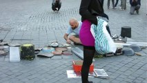 Street Performer Uses Pots And Pans To Make Incredible Music