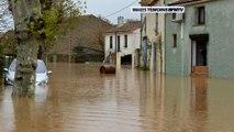 IMAGES TEMOINS BFMTV - Les inondations dans l'Aude et les Pyrénées-Orientales