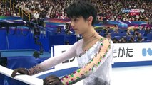 羽生 結弦 2014 Worlds FS Yuzuru Hanyu   Gold medal